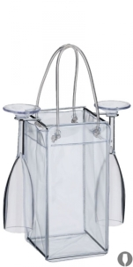 pedestal-com-tacas-bolsa-pvc-para-gelo-transparente