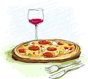 Pizza_and_Wine_Illustration