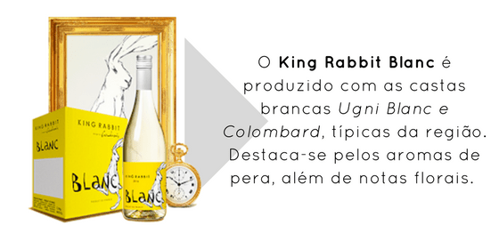 King Rabbit Blanc