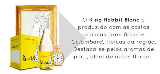King Rabbit Blanc